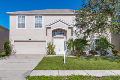 West Melbourne Single Family Home For Sale: 1424 Sumter Lane