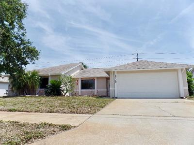Merritt Island Single Family Home Contingent: 2775 Raintree Lake Circle