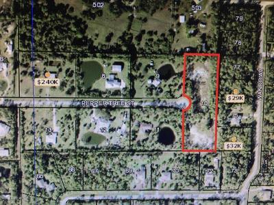 Residential Lots & Land For Sale: 4100 Pepper Tree Street