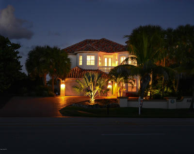 Melbourne Beach FL Single Family Home For Sale: $1,145,000