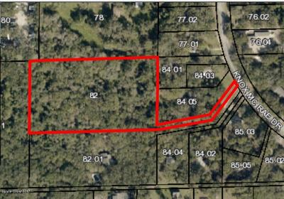 Titusville Residential Lots & Land For Sale: Knox Mc Rae