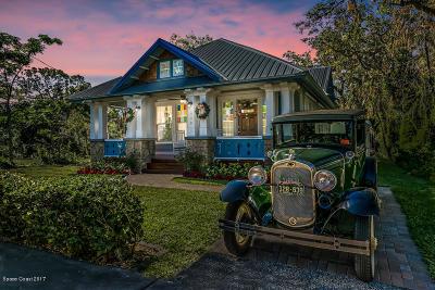 Titusville Single Family Home For Sale: 908 S Washington Avenue