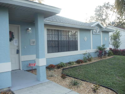 Palm Bay FL Single Family Home For Sale: $164,990