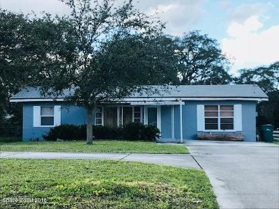 Melbourne FL Single Family Home For Sale: $149,900