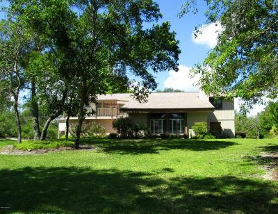 Titusville Single Family Home For Sale: 440 S Carpenter Road S