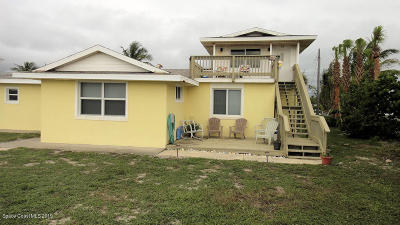 Melbourne Beach Single Family Home For Sale: 6545 S Highway A1a
