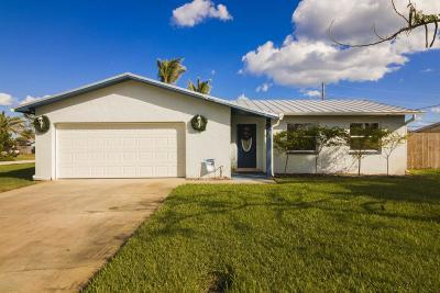Indialantic FL Single Family Home For Sale: $429,900