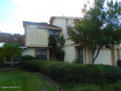 Titusville Townhouse For Sale: 3756 Sawgrass Drive
