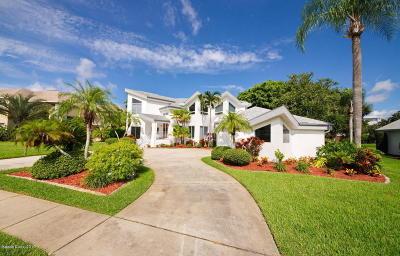 Merritt Island Single Family Home Contingent: 3875 Savannahs Trl