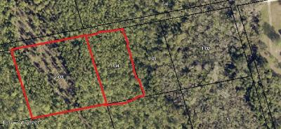 Mims Residential Lots & Land For Sale: Gandy Road