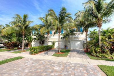 Indialantic Townhouse For Sale: 100 8th Avenue