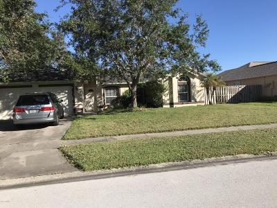 Rockledge Single Family Home For Sale: 1171 S Meadow Lake Road