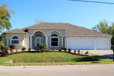 Merritt Island Single Family Home For Sale: 280 Butler Avenue