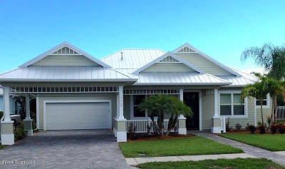 Indian Harbour Beach Single Family Home For Sale: 150 Enclave Avenue