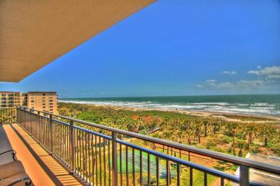 Cocoa Beach Condo For Sale: 2100 N Atlantic Avenue #603
