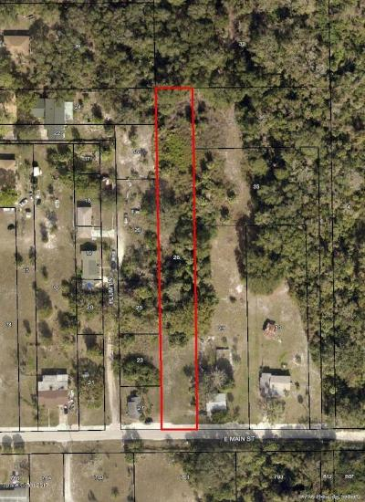 Mims Residential Lots & Land For Sale: 2700 E Main Street