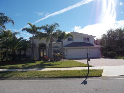 Rockledge Single Family Home For Sale: 4707 Merlot Drive