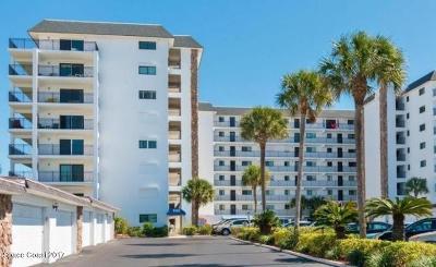 Cocoa Beach Condo For Sale: 650 N Atlantic Avenue #610