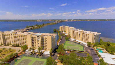 Merritt Island Condo For Sale: 480 Sail Lane #607