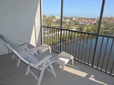 Cocoa Beach Condo For Sale: 3613 S Banana River Boulevard #504