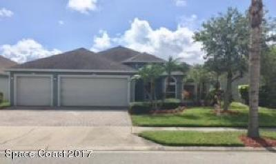 Rockledge Single Family Home For Sale: 1988 Auburn Lakes Drive