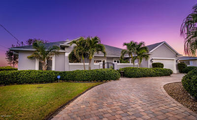 Cocoa Beach FL Single Family Home For Sale: $1,195,000