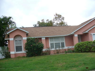 Rockledge Single Family Home For Sale: 817 Emerald Way