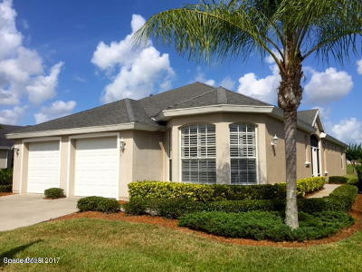 Rockledge Single Family Home For Sale: 4225 Woodhall Circle