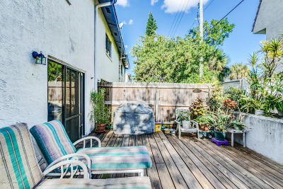Cape Canaveral Townhouse For Sale: 8672 N Atlantic Avenue