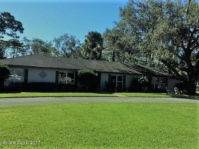 Melbourne Single Family Home For Sale: 5395 Lake Washington Road