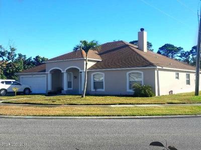 Merritt Island Single Family Home For Sale: 3331 Biscayne Drive