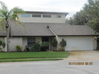 Indialantic Single Family Home For Sale: 583 Bolanos Corte