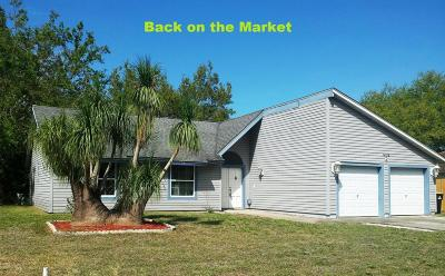Brevard County Single Family Home For Sale: 1435 Giles Street NW