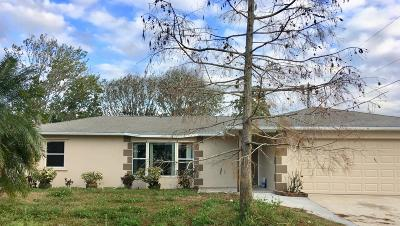 Palm Bay Single Family Home For Sale: 311 Esterbrook Avenue NE