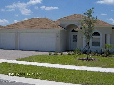 Titusville Single Family Home For Sale: 3997 Foothill Drive