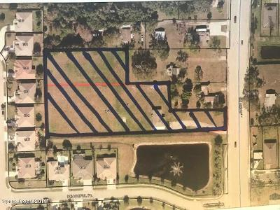 Brevard County Residential Lots & Land For Sale: 3090&3050 Dairy Road