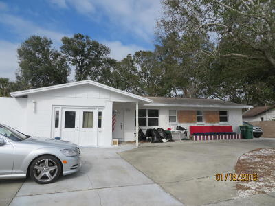 Cocoa Single Family Home For Sale: 1102 Fay Boulevard