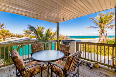Melbourne Beach Single Family Home For Sale: 9085 S Highway A1a