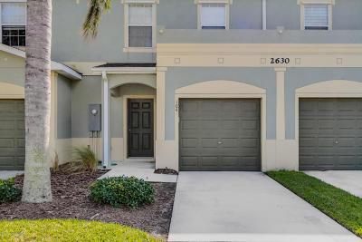 Melbourne FL Townhouse For Sale: $179,000