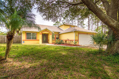 Palm Bay Single Family Home Contingent: 1301 Baca Avenue NW