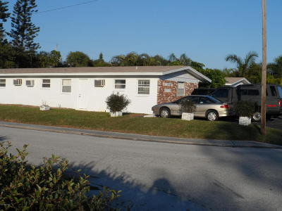 Cape Canaveral Multi Family Home Contingent: 204 Johnson Avenue
