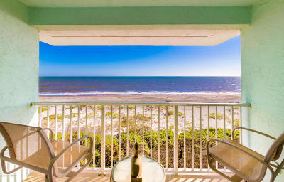 Cocoa Beach Condo For Sale: 107 S 28th Street #107