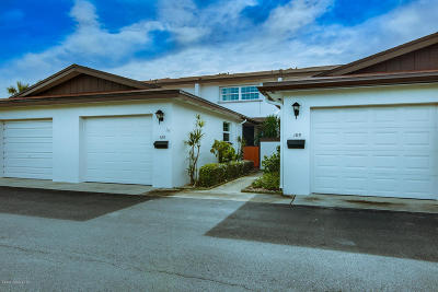 Satellite Beach Townhouse For Sale: 189 Kingsway
