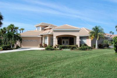 Merritt Island Single Family Home For Sale: 510 River Moorings Drive