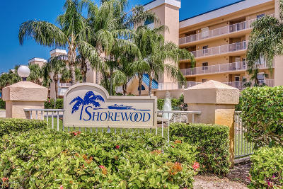 Cape Canaveral Condo For Sale: 609 Shorewood Drive #207