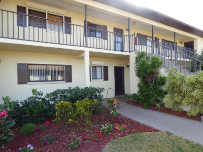 Cocoa Beach Condo For Sale: 325 S Banana River Boulevard #302