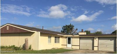 Rockledge Single Family Home For Sale: 978 Beechfern Lane
