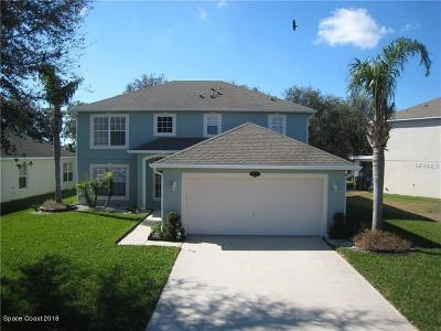 Titusville Single Family Home For Sale: 527 Mason Drive