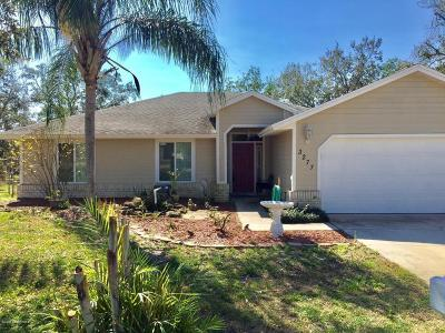Cocoa Single Family Home For Sale: 3277 Angelica Street