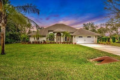 Titusville Single Family Home For Sale: 1720 Misty Way
